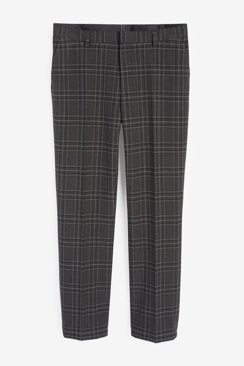Next Bi-Stretch Check Suit: Trousers