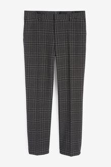 Next Bi-Stretch Check Suit: Trousers - 268061