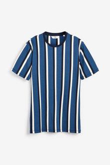 Next Vertical Stripe Slim Fit T-Shirt - 268062