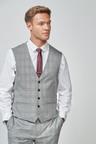 Next Regular Fit Check Suit: Waistcoat