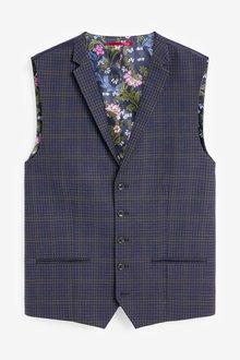 Next Check Suit: Waistcoat - 268075
