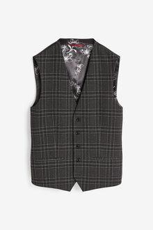 Next Check Suit: Waistcoat - 268076