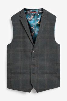 Next Check Suit: Waistcoat - 268080