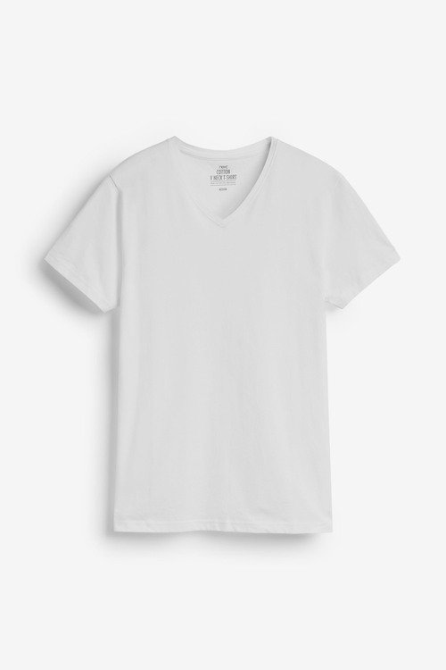 Next V-Neck T-Shirts Two Pack