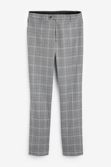 Next Check Suit: Trousers-Regular Fit - 268136
