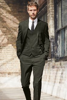 Next Textured Suit: Trousers- Skinny Fit - 268139