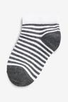 Next Spot And Stripe Trainer Socks Five Pack (Older)
