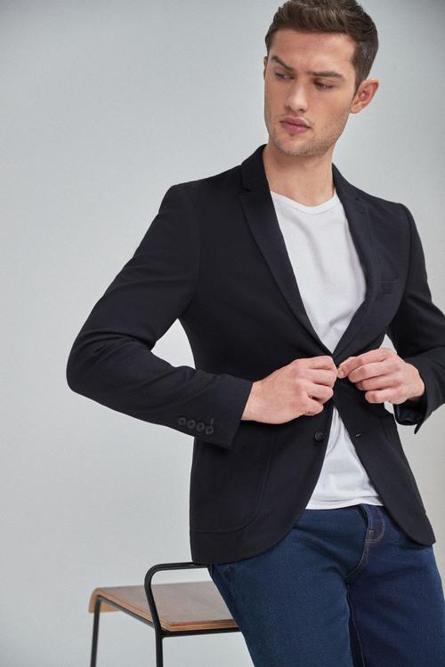 Next Jersey Slim Fit Blazer