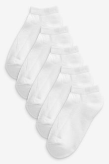 Next 5 Pack Cushioned Trainer Socks - 268185