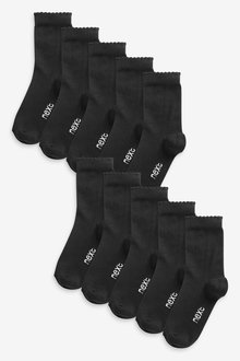 Next 10 Pack Ankle Socks - 268186