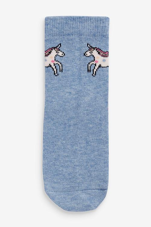 Next 7 Pack Unicorn Socks