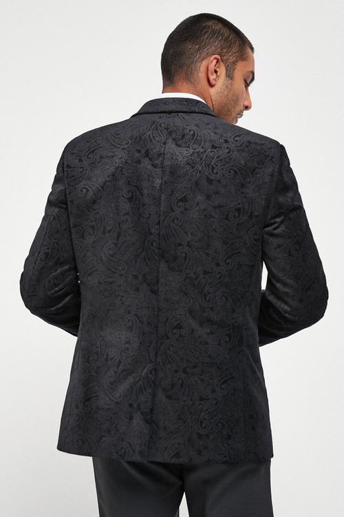 Next Printed Velvet Jacket