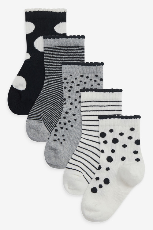 Next 5 Pack Spot Socks