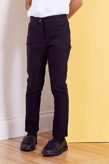 Next Skinny Stretch Trousers (3-16yrs)-Slim Fit - 268255
