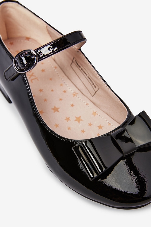 Next Leather Bow Mary Jane Shoes (Older)