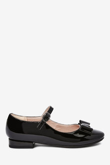 Next Leather Bow Mary Jane Shoes (Older) - 268263