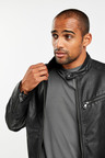 Next Faux Leather Racer Jacket