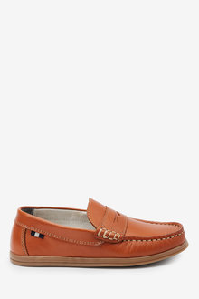 Next Leather Penny Loafers (Older) - 268328