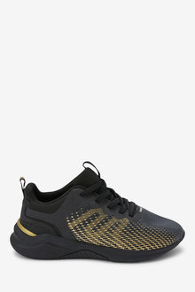 Next Elastic Lace Trainers (Older) - 268338