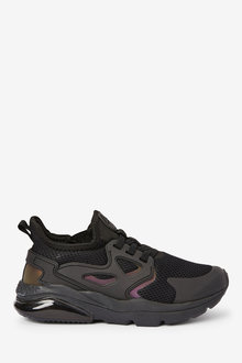 Next Elastic Lace Trainers (Older) - 268354