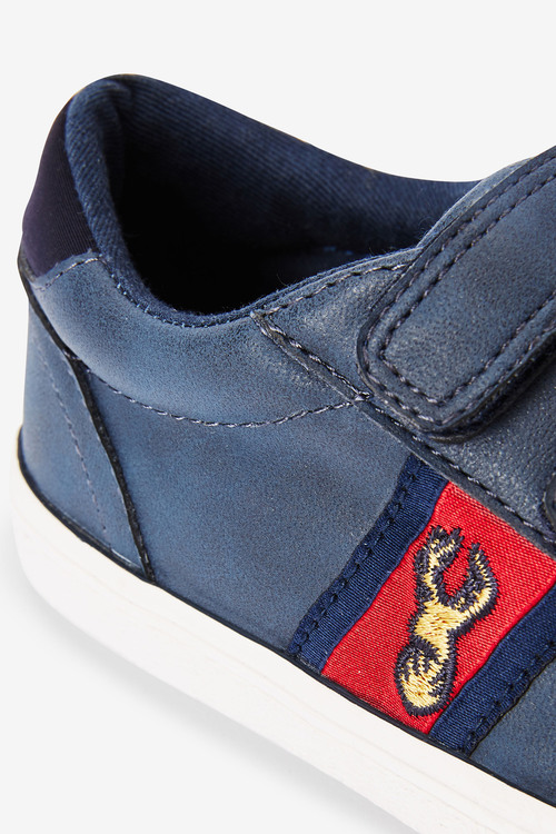 Next Strap Touch Fasten Stag Embroidery Shoes (Older)