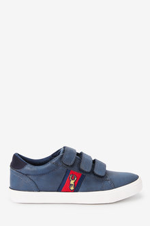 Next Strap Touch Fasten Stag Embroidery Shoes (Older) - 268384