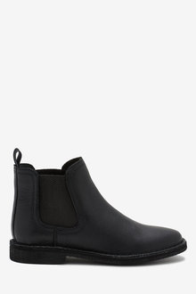 Next Leather Chelsea Boots (Older) - 268386