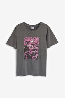 Next Oversized Tokyo Graphic T-Shirt - 268455
