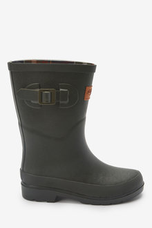Next Check Lining Buckle Wellies (Older) - 268484