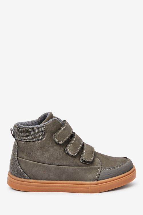 Next Warm Lined Strap Touch Fastening Boots (Older)