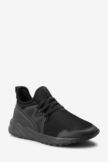 Next Elastic Lace Trainers (Older) - 268502