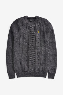 Next Cable Knit Jumper - 268545