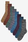 Next Marl Socks Eight Pack