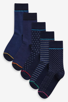 Next Pattern Socks Five Pack - 268677