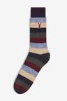 Next Stripe Cushioned Heavyweight Socks Four Pack
