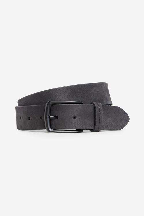 Next Washed Leather Belt
