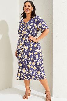 Sara Button Dress - 268810
