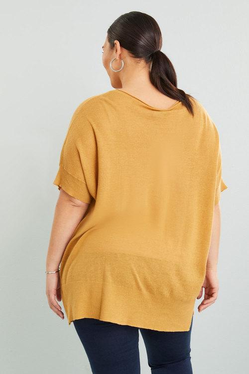 Sara Batwing Pocket Sweater