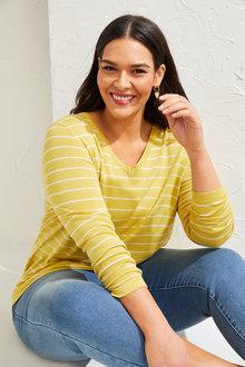 Sara Stripe Sweater - 268861