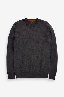 Next Cotton Rich Crew Jumper - 268877