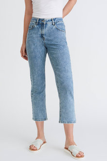 Capture Straight Leg Crop Jeans - 268959