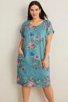 Sara Linen Angled Pocket Dress
