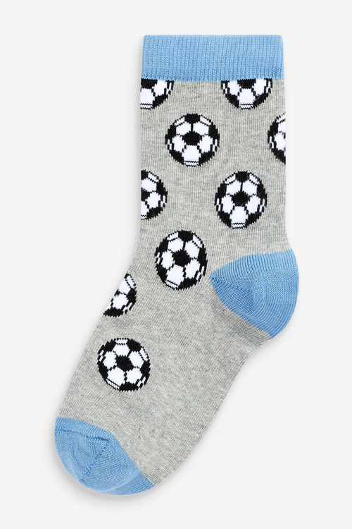 Next 7 Pack Cotton Rich Football Socks (Older)