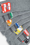 Next 7 Pack Cotton Rich Transport Socks (Older)