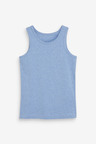 Next 5 Pack Organic Vests (1.5-16yrs)