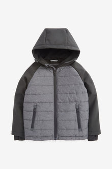 Next Mixed Fabric Padded Jacket (3-16yrs) - 269085
