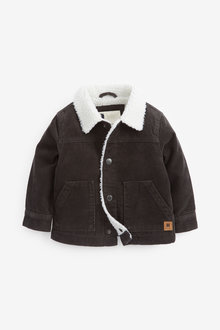 Next Cord Borg Lined Jacket (3mths-7yrs) - 269123