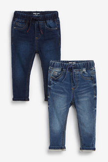 Next 2 Pack Jogger Jeans (3mths-7yrs) - 269172