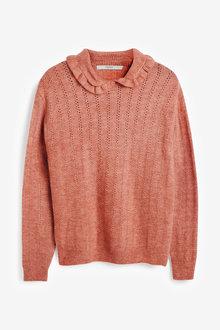Next Collar Detail Knitted Jumper - 269185