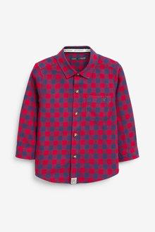 Next Long Sleeve Buffalo Check Shirt (3mths-7yrs) - 269192